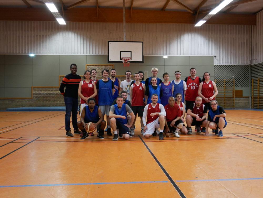 Match amical contre les Loisirs du SMH Basket