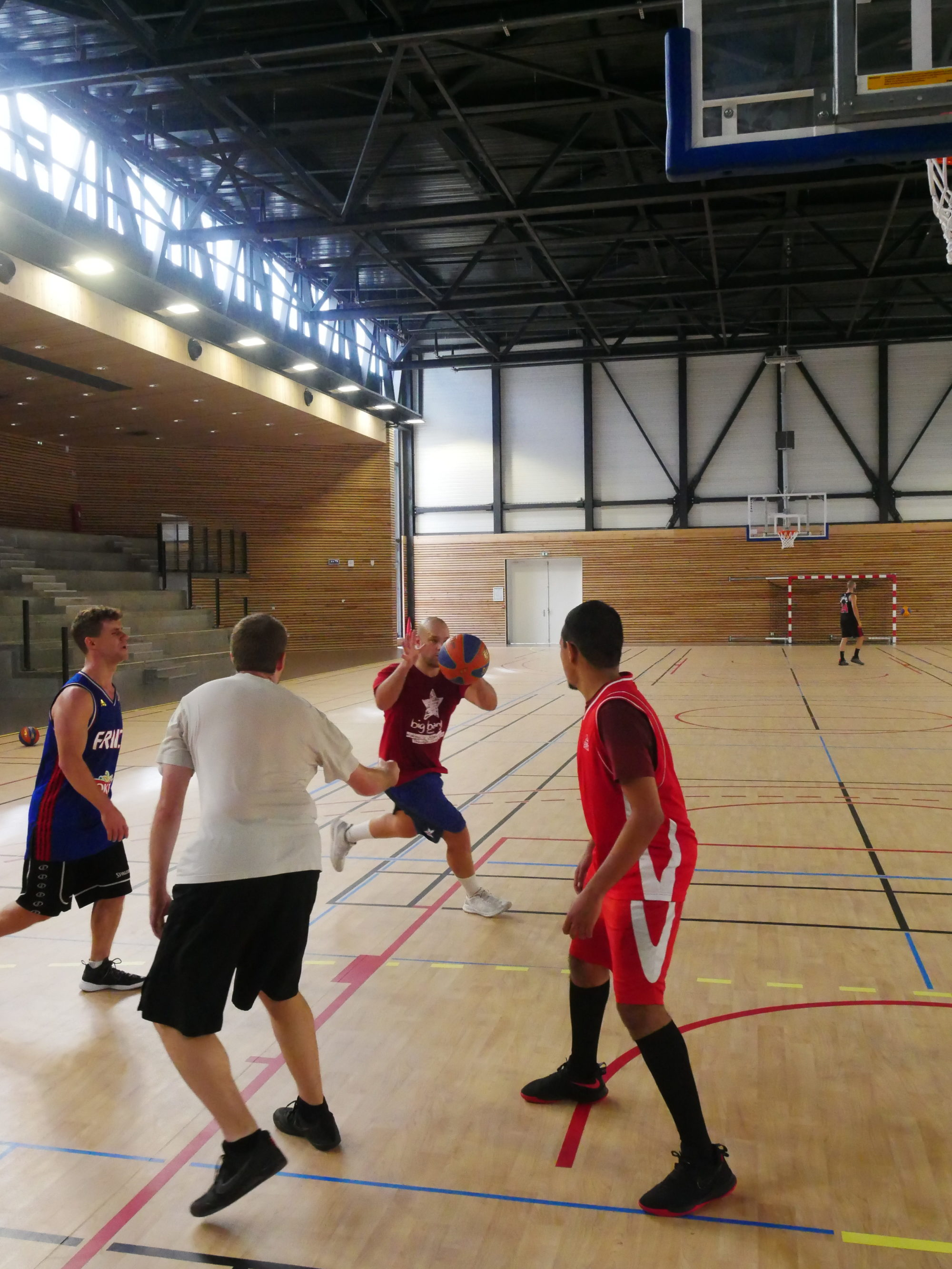 Le basket 3×3 arrive au GB38 !