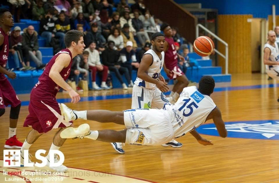 Victoire du GB38 : 82 à 54 face à Aix-Maurienne Savoie Basket