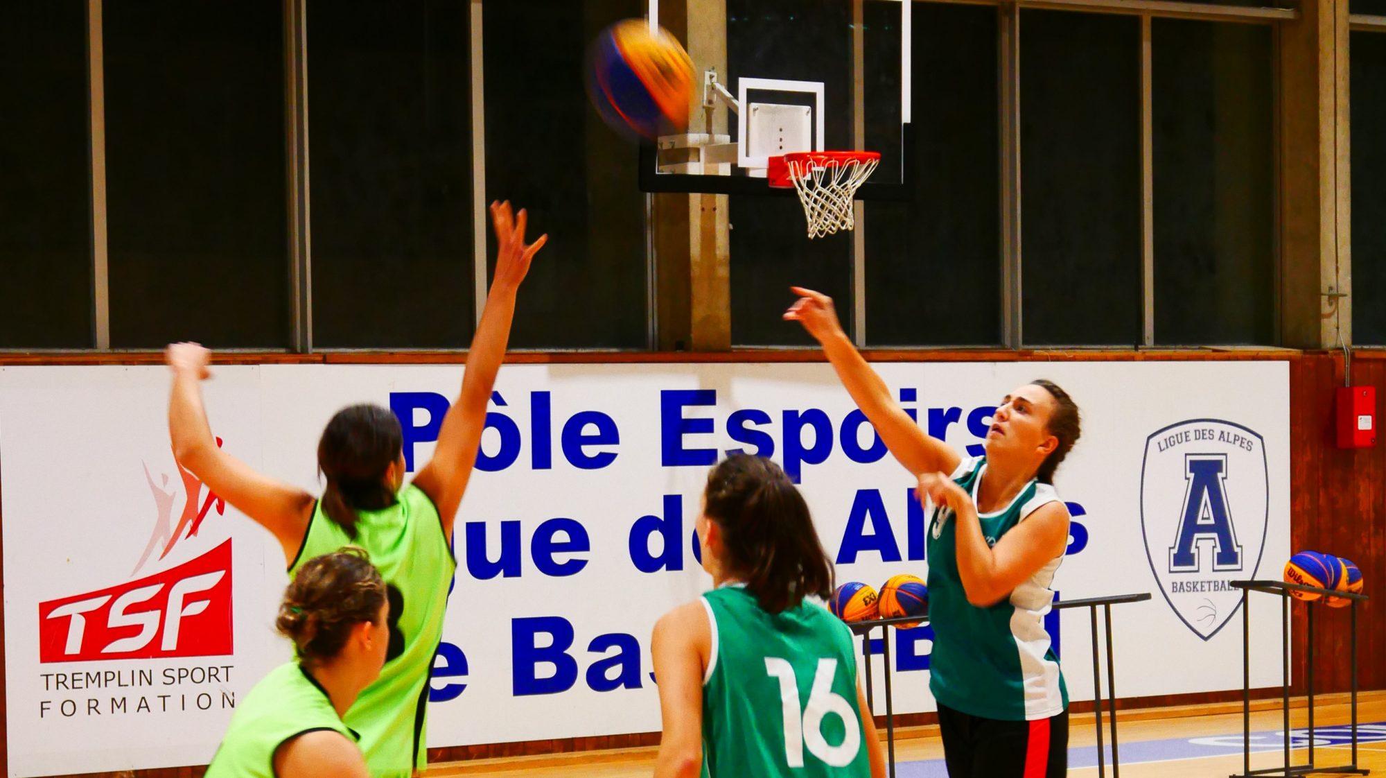 Retour sur la 1ère journée du championnat d'Isère de basket 3×3