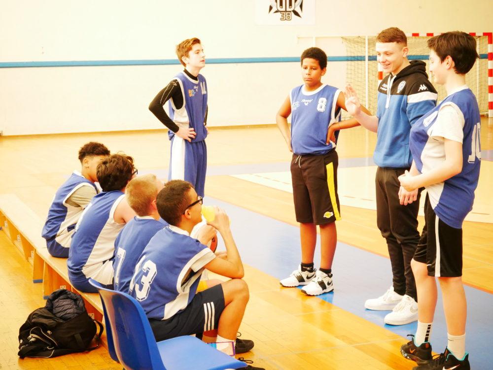 Victoire des U15-2 du GB38 contre Eybens Poisat
